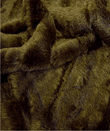 Tall Pile Fur Fabric - Bruno