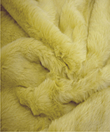 Tall Pile Fur Fabric - Pampas