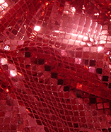 Square Sequins - Red