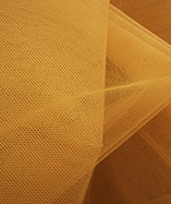 Nylon Dress Net - Gold