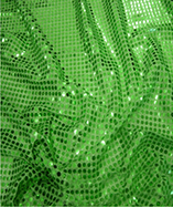 6mm Round Sequins - Green