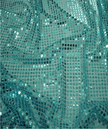 6mm Round Sequins - Turquoise