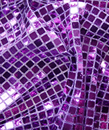Square Sequins - Purple