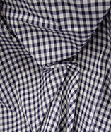 Gingham Check Quarter Inch check - Navy