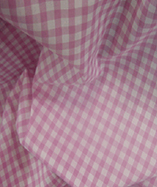 Gingham Check Quarter Inch check - Pink