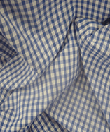 Gingham Check Quarter Inch check - Royal