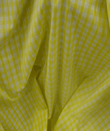 Gingham Check Quarter Inch check - Yellow