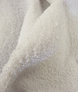 Terry Toweling Fabric - White (1)