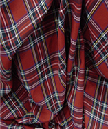Tartan Fabric - Royal Stewart (C3594)