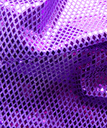 Diamond Sequin Fabric - Purple (4)