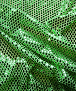 Diamond Sequin Fabric - Green (7)