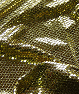Diamond Sequin Fabric - Black/Gold (8)