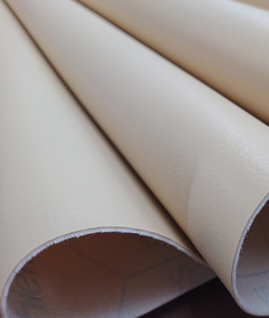 Just Colour Leatherette Fire retardant - Almond