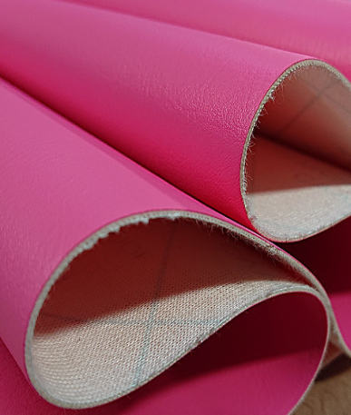 Just Colour Leatherette Fire retardant - Candy