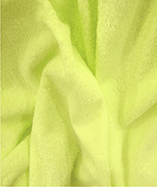 Terry Toweling Fabric - Lemon