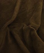 Fleece Fabric - Chocolate Brown