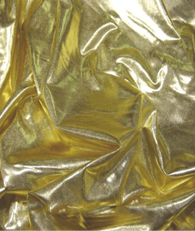 Metallic Elastane - Gold