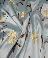 Paris Curtain Fabric (4720) - Powder Blue (732)