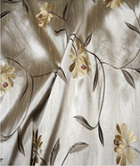 Paris Curtain Fabric (4720) - Antique (106)