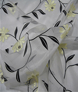 Parisienne Curtain Fabric-4721 - Pearl (021)