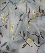 Parisienne Curtain Fabric-4721 - Powder Blue (732)