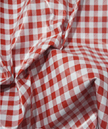 PVC Table Cloth Cafe Check half Inch - Red