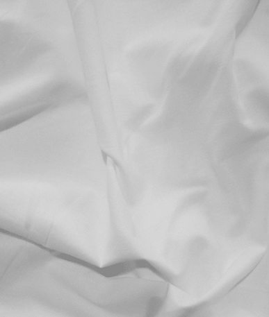 Cheap Plain Poly/Cotton Fabric - White