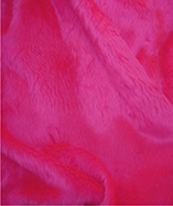 Fur Fabric short pile - Cerise