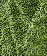 Printed Animal Furs - Flavine Leopard