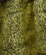 Printed Animal Furs - Baby Leopard