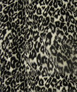 Printed Animal Furs - Snow Leopard
