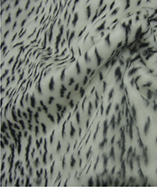 Printed Animal Furs - Snow Cheetah