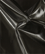 PVC Coated Fabric (Panama 6456) - Black (900)