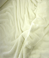 Stretch Toweling Fabric - Chantel - White (011)