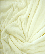 Stretch Toweling Fabric - Chantel - Off white (010)