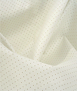 Perforated Headliner Leatherette - White