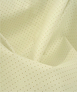 Perforated Headliner Leatherette - Off White