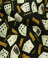 Casino Printed Cotton fabrics - Poker