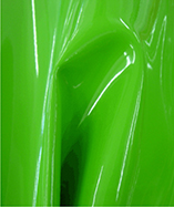 High Gloss Fire Retardant PVC Vinyl - Lime (2506)