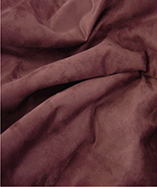 New York Suede Fabric (Fire Retardant) - Wine