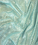 3mm Sequin Fabric - Turqoise