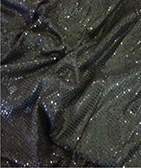 3mm Sequin Fabric - Black