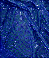 3mm Sequin Fabric - Royal
