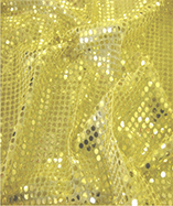 6mm Round Sequins - Gold