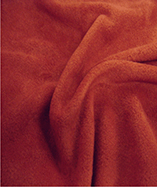 Fleece Fabric - Dark Red