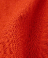 Hessian fabric fire retardant - Red