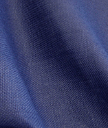 Hessian fabric fire retardant - Navy