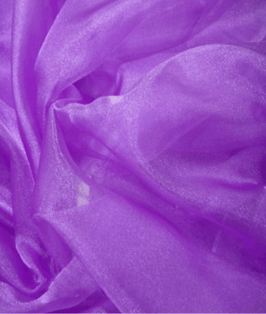 Crystal Organza - Purple (10)