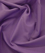 Poly Cotton Drill - Purple
