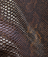 Snake Skin Textured Fabric Sopythana - Brandy (0939)